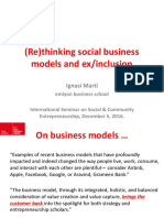 Social Business Models Brussels 05122016