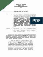 OCA Circular No. 01 2014