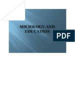 EFN 815 - Sociology and Othe Social Sciences