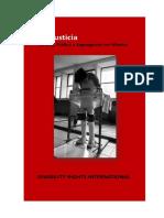 Tortura, Tráfico y Segregación en México