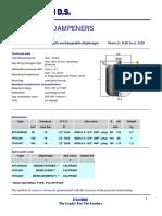 Brochure Etatron Pulsation Dampeners Datasheet