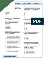 IBPS PO 2016 General Awareness Mock Test - 01