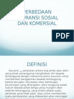 Perbedaan Asuransi Sosial Dan Komersial
