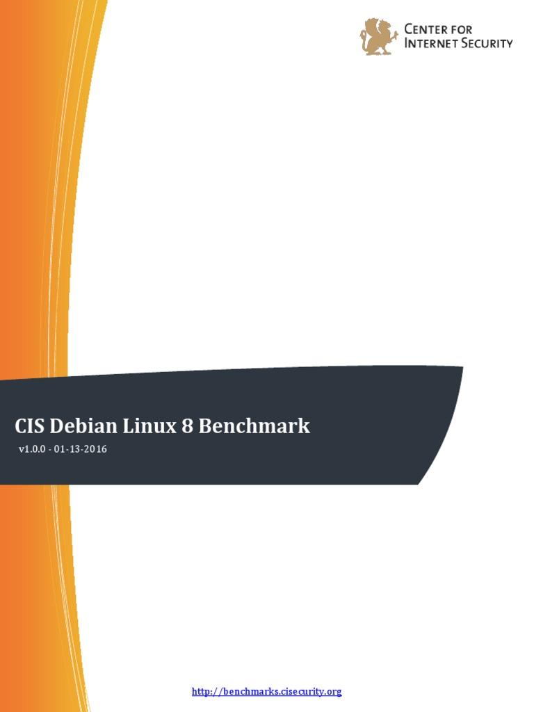 CIS Debian Linux 8 Benchmark v1 0 0 | File System | Booting