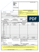 Contributions Payment Form