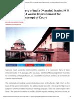 CPIM Contempt of Court _ Live Law