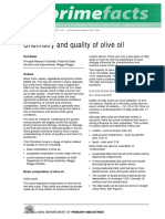 Chemistry & quality of olive oil