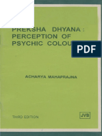 Preksha Dhyana Perception of Psychic Colours