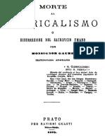 [eBook ITA] Mons Gaume Morte Al Clericalismo 1878