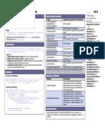 YUI AutoComplete Cheat Sheet v2.9