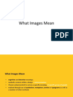 What Images Mean