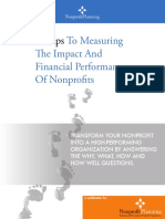 8 Steps to Measuring Impact and Financial Performance