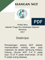 Pemasangan NGT