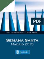 Programa de La Semana Santa de Madrid