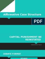 Affirmative Case Structure.pptx