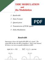 2 - PCM & Delta Modulation