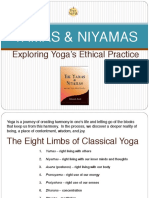 The Yamas Niyamas PPT