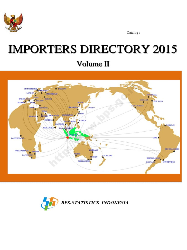Direktori Importir Indonesia Tahun 2015 Jilid Iipdf Kaisar Angguna 250 Cc