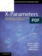 X-Parameters Characterization Modeling and Design of Nonlinear RF and Microwave Components_Root.pdf
