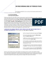 Excel Food Inventory Control Template