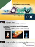 Fluent Combustion 15.0 L02-Non-Premixed