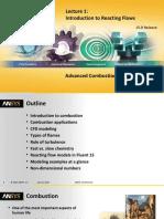 Fluent Combustion 15.0 L01-Introduction