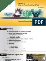 Fluent Combustion 15.0 L04-DPM