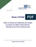 Le rapport Stivab sur les conditions de travail dans les abattoirs bretons