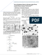 Analysis of Reduction in Shrinkage Defect in Reciprocating Piston