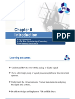 DSP Lec 00 Introduction