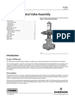 Fisher D4 Control Valve Manual