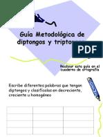 Gua Metodologica de Diptongos, Triptongos e Hiatos.ppt