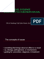 2. Level Evidence, CA. Causation