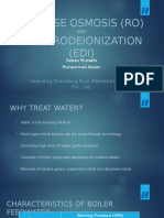 Reverse Osmosis and Electrodeionization