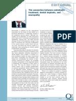 Endo, Implante e Neuropatia