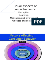 Individual Aspect Motivation Perception