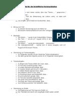 Redemittel Fc3bcr Die Schriftliche Kommunikation
