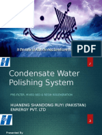Condensate Water Polishing System
