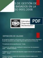 Sistemas de Gestion de Calidad ISO9001