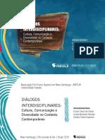 Diálogos Interdisciplinares Cultura-Comunicação e Diversidade No Contexto Contemporâneo