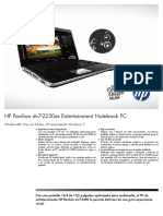 Datasheet HP Pavilion Dv7-2230es
