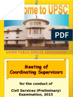 PPT for Training on UPSC Exam Conduction