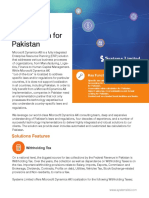 Dynamics AX Localization - Pakistan