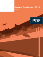 Emissions Gap Report 2016