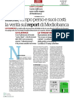 20170201 - La Verità Sul Report Di Mediobanca (Il Fatto Quotidiano)