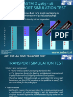 ASTM Simulated Transport Test