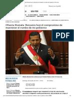 Ollanta Humala_ Renuevo Hoy El Compromiso