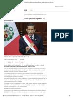 Perú Vivió Una Intensa Jornada Patriótica