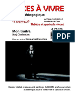 Mon Traitre (Sorj Chalandon), d'Emmanuel Meirieu