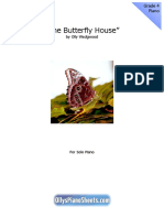 The Butterfly House Piano Sheet Music